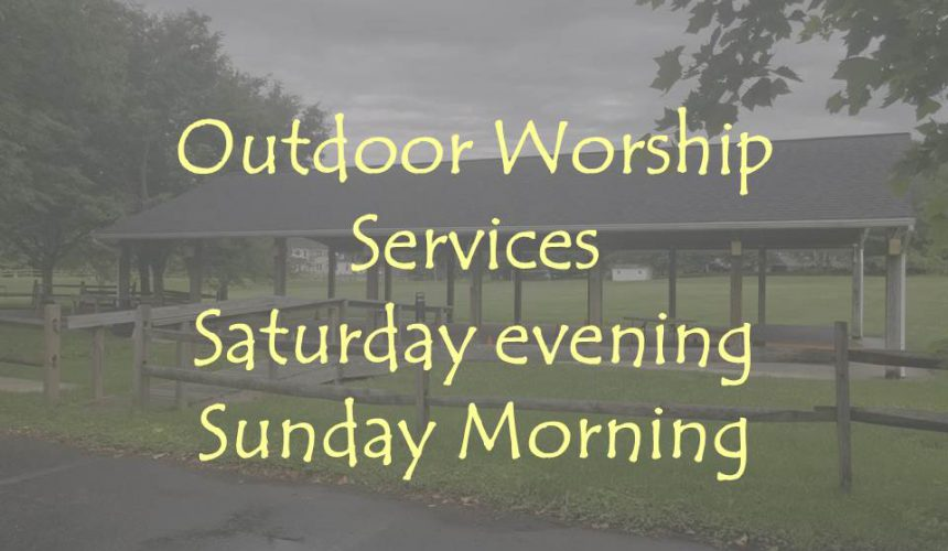 A word about Outdoor Services